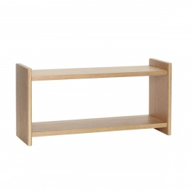 hubsch petite etagere murale style scandinave bois clair