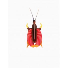 insecte decoration murale scarabee violon studio roof