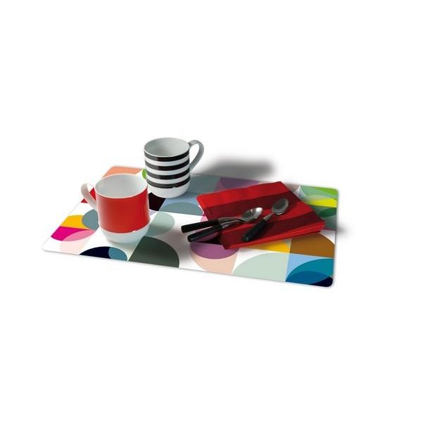 Set de table d co plastique remember solena - Set de table plastique ...