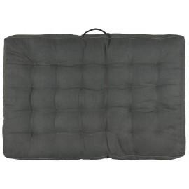 matelas de sol epais gris coton ib laursen 80 x 120 cm