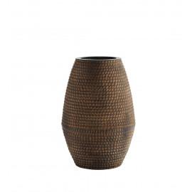 madam stoltz jarre grand vase texture style ethnique terre cuite