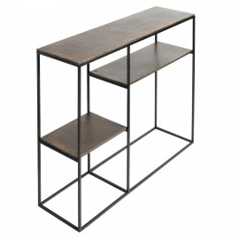 muubs table console design industriel epure metal hitch