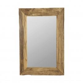 Miroir mural bois brut recyclé House Doctor Pure Nature
