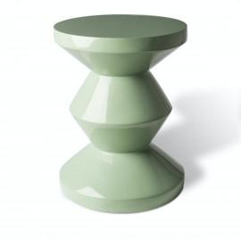 pols potten zig zag tabouret design vert olive