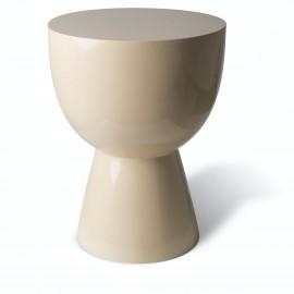 tabouret design tam tam pols potten beige