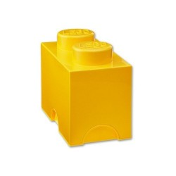 BOITE LEGO 2 PLOTS JAUNE