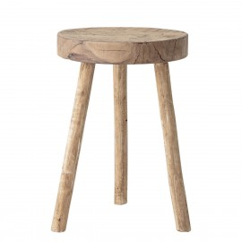 tabouret rond bois recycle bloomingville banu