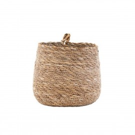 house doctor hang cache pot jonc de mer naturel