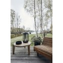 house doctor bali table basse ronde bois manguier clair