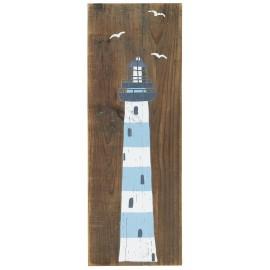 panneau bois decoration bord de mer ib laursen phare
