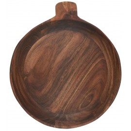 Grand bol bois acacia rustique campagne IB Laursen 30 cm