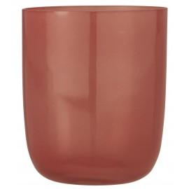 Photophore verre soufflé IB Laursen rose