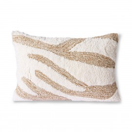 Coussin fluffy chic rectangulaire HK Living