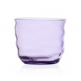 gobelet verre design souffle violet ichendorf milano poseidon
