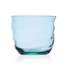 ichendorf milano poseidon verre souffle design deforme bleu turquoise