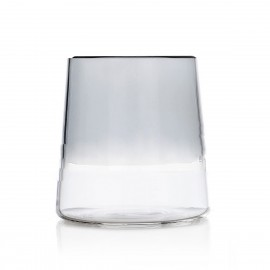 ichendorf milano light gobelet verre a vin bicolore gris