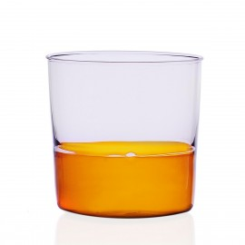 verre gobelet contemporain italien ichendorf milano light rose ambre