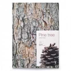 Carnet bloc notes écorce bois pa design woodpecker