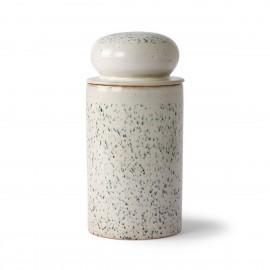 hk living bocal de conservation ceramique vintage 70 s