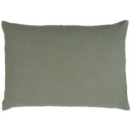 grande taie d oreiller lin vert rectangulaire 50 x 70 cm ib laursen