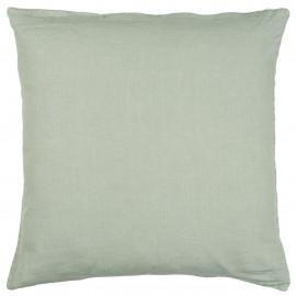 Taie d'oreiller lin carré IB Laursen vert