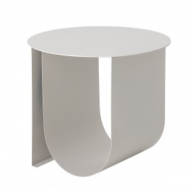 bloomingville table basse bout de canape design metal plie gris