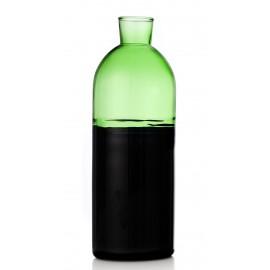 ichendorf milano light carafe bouteille design verre souffle vert noir