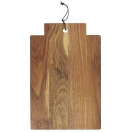 ib laursen grande planche a decouper bois d acacia huile poignee
