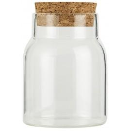 Petit bocal de cuisine verre liège IB Laursen 150 ml