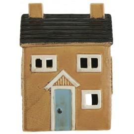 petite maison bougeoir porte bougie ceramique couleur ib laursen