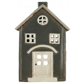 maison ceramique porte bougie photophore couleur ib laursen