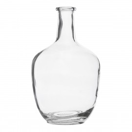 house doctor vase dame jeanne verre transparent