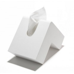 + D Folio Design Tissue Case white