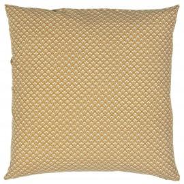 ib laursen housse de coussin coton imprime orange style vintage