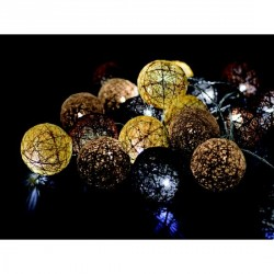 BOULES LUMINEUSES GUIRLANDES choco-sable
