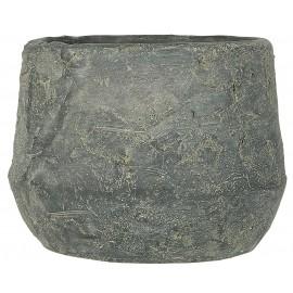 ib laursen cache pot beton brut rustique gris akropolis