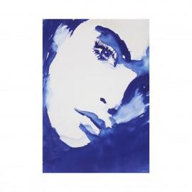 hk living sophie tiny art tableau illustration visage imprime sur toile