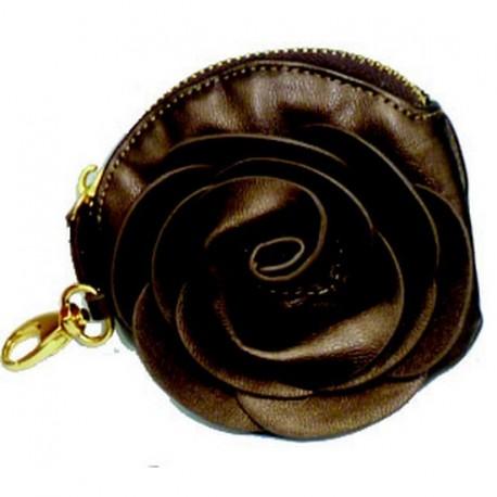 Porte monnaie fleur chocolat kdesign for Porte eponge rigolo