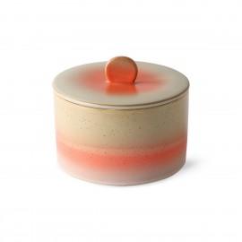 hk living pot a biscuits ceramique couvercle style vintage venus