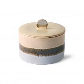Pot à biscuits céramique style vintage HK Living Lake