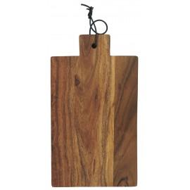 planche a decouper en bois acacia huile laniere cuir ib laursen