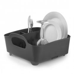 Egouttoir vaisselle design gris tub umbra