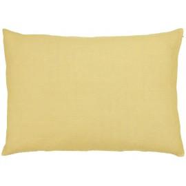 taie d oreiller lin jaune pastel clair 60 x 40 cm ib laursen