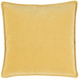 Housse de coussin velours IB Laursen jaune