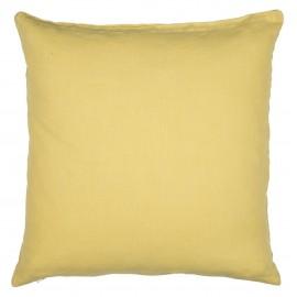 taie d oreiller lin jaune clair pastel 50 x 50 cm ib laursen