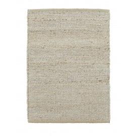 house doctor hempi petit tapis chanvre descente lit gris 60 x 90 cm