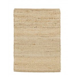 house doctor hempi tapis descente lit chanvre naturel beige 60 x 90 cm