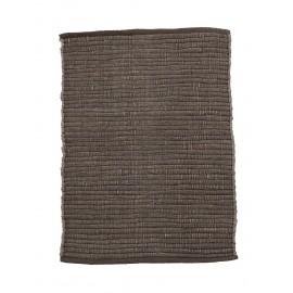 petit tapis chindi marron coton house doctor 60 x 90 cm