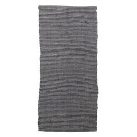 tapis descente de lit chindi gris house doctor 70 x 160 cm
