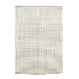 petit tapis chindi blanc house doctor 60 x 90 cm